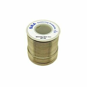 Sra Soldering Products Wbcc96462 Lead Free No clean Flux Core Silver Solder 9