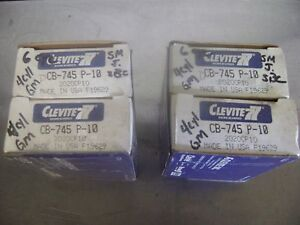 Clevite Cb745p10 Small Journal Small Block Chevy new Set Rod Bearings