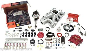 Fast Xfi Sbf 302 Ford 550hp Sequential Efi Fuel Injection Kit 3031302 05