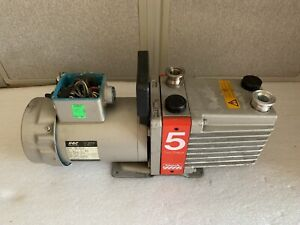 Edwards 5 Two Stage Vacuum Pump W Gec Bs 5000 11 220v Bs 2212 Ac Motor