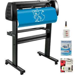 Vinyl Cutter Plotter Cutting 34 Sign Maker Backlight Decoration Cut Device