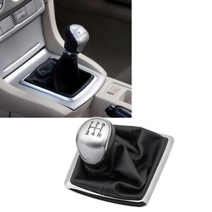 For Ford Focus 2009 2015 Car Gear Shift Knob Gaiter Boot Cover Set 5 Speed