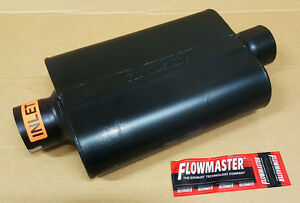 Flowmaster Super 44 Series Steel Muffler 3 Center Inlet Center Outlet 943045