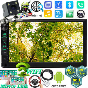 For Chevy Gmc 1995 2002 Truck Android 2din Bluetooth Usb Gps Radio Stereo Camera