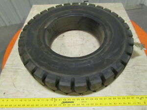 All Pro 7 00 15 Rim 5 5 Solid Pneumatic Traction Style Forklift Tire New