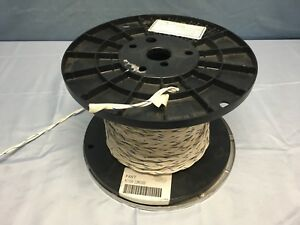 115 Ft Mil spec M27500 12mh2u00 Twisted pair Tin Plated Copper 12 Awg Cable Wire