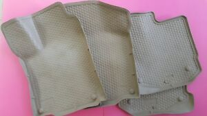 00 01 02 03 04 05 Vw Jetta Husky Liners Weather Beater Floor Liners Used Set