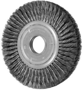 Pferd 82038 10 Knot Wheel Brush Double Row 012 Cs Wire 2 A h