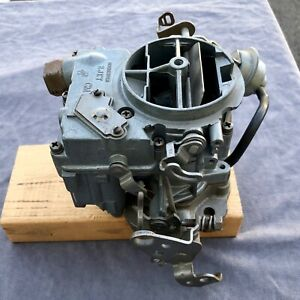 Rochester 2 Jet Carb The Large 3 1 16 O d Version As On Pontiac Gto