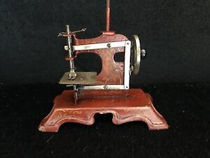 Antique Toy Muller S Hand Sewing Machine Made In Germany