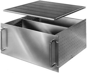 Bud Industries C 14245 Chassis Rack Mount 10 5x16 812in Aluminum