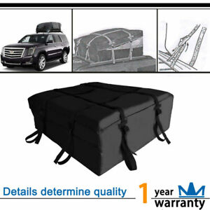 Expandable Car Top Roof Bag Luggage Cargo Carrier Weather Resistant Box