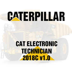 Caterpillar Electronic Technician Cat Et 2018 C Dealer Version