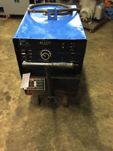 Miller Dialarc 250 Constant Current Ac dc Arc Welding Powersource Serial Kk27416