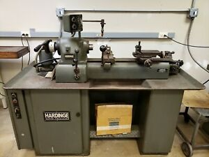 Hardinge Super Precision Dsm59 Lathe Variable Speed