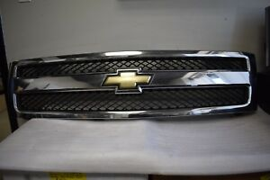2007 2012 Chevy Silverado Truck Front Grille Factory Oem