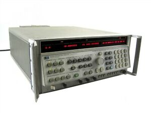 Agilent Keysight Hp 8340a Synthesized Sweep Signal Generator 10mhz To 26 5ghz