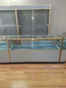 Glass Showcases Deal Jewelry Fixtures Whole Store Wall Cases Counter Displays