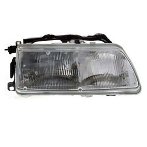 For 90 91 Civic Crx Front Headlight Headlamp Head Light Lamp W bulb Right Side