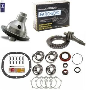 Ford 8 3 80 Ring And Pinion 28 Spline Traclok Posi Master Kit Richmond Gear Pkg