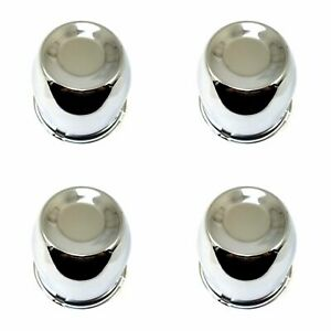 4x Excalibur 102 Wheel Rim Center Hub Caps Chrome 4 25 hub 4 1 2 od 5x5 5 6x5 5