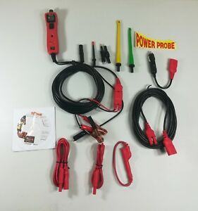 Power Probe Iii Circuit Tester With Lead Set Kit Pp3ls01