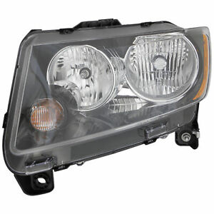 2013 2014 Jeep Compass Driver Left Side Headlight Lamp Assembly