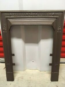Vintage Cast Iron Fireplace Surround 2 Available Listing Is For One