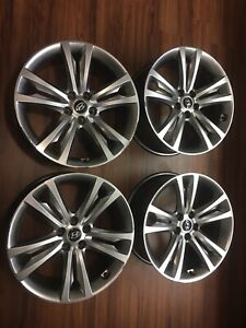 10 12 Hyundai Genesis Coupe Alloy Wheels 52910 2m120 2m130 Set Of 4 Staggered
