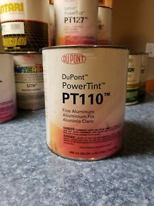 Dupont Power Tint Automotive Paint Fine Aluminum Pt110