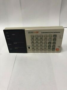Melsec Programming Panel Display Keypad great Condition Key Pad F1 20p e