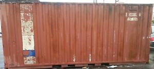 1 Trailer Container 20 Ft Miami