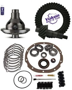 Ford 9 4 11 Ring And Pinion 31 Spline Traclok Posi Master Kit Yukon Gear Pkg
