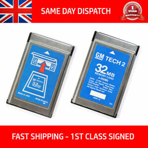 Fits Saab 148 000 Gm Tech2 Tech 2 32mb Memory Card Diagnostic Scanner Tis