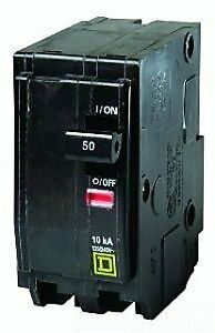 Square D By Schneider Electric qo250 circuit Breaker Thermal Magnetic 2p 50a
