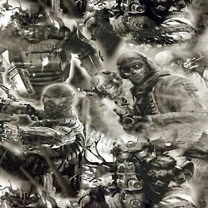 Hydrographic Film Water Transfer Printing Soldiers 10 Square Feet 2 Meters Long