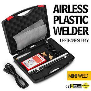 Mini Weld Model 7 Airless Plastic Welder Wide Application Fastest Portable