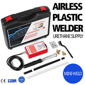 Mini Weld Model 7 Airless Plastic Welder Variable Temperature Portable 120 Volts