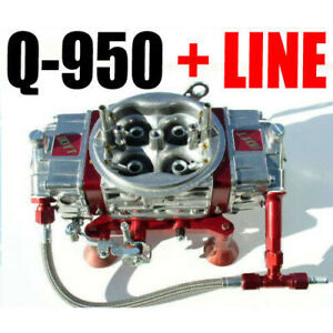 Quick Fuel Q 950 Technology 950 Cfm Mech Drag Race Gas With 6 Line Kit New Look