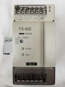 New Surplus Mitsubishi Fx 4ad Programmable Controller No Box Free Shipping
