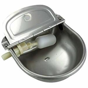 Pet Supplies Stainless Steel Automatic Waterer Bowl Horse Cattle Goat Sheep Pig