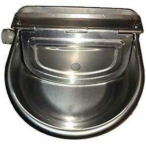 Automatic Farm Grade Stainless Stock Waterer Horse Cattle Goat Sheep Dog By