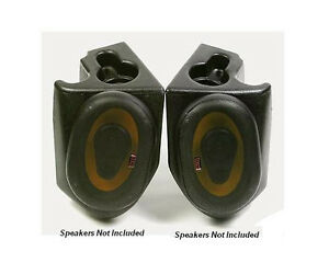 Vdp Jeep Sound Wedges With Out Speakers 76 95 Jeep Cj Yj Wrangler Black