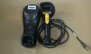 Symbol Ls4278 Cordless Wireless Usb Barcode Scanner Plus Stb4278 Cradle