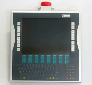 Beckhoff Cp7242 0001 0000 Panel Pc Touchscreen Alphanumeric Keyboard W plc Keys