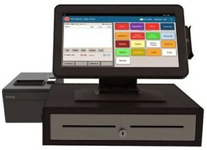 Toast Pos Point Of Sale System 2 Terminals 4 Printers 2 Cash Drawers