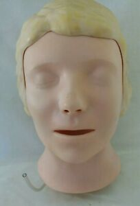 Laerdal Resusci Anne Head Cpr Manikin First Aid Emt Nurse Medical Trainer