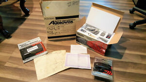 Vtg Audiovox 1987 Auto Security Complete Vehicle Alarm System Pca 1045 New