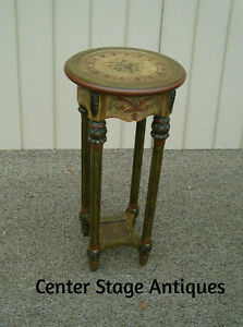 60009 Decorator Powell Furniture Plant Pedestal Stand Table
