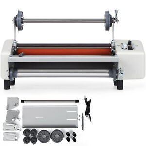 13 A3 Roll Laminator Four Roller Hot Cold Laminating Machine For335mm Paper
